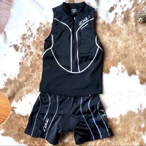 2XU Triathlon Top and shorts